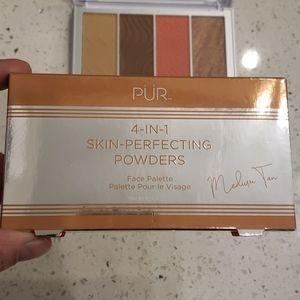 PÜR 4-in-1 skin perfecting powders Medium-Tan